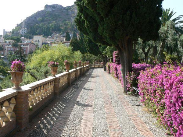 английский сад - villa comunale