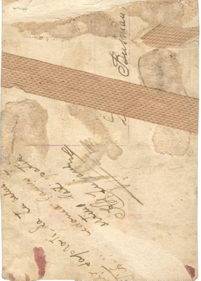 Прошу, друзья, помощи! Подписана древняя открытка для моей прабабушки, а разобрать не могу(