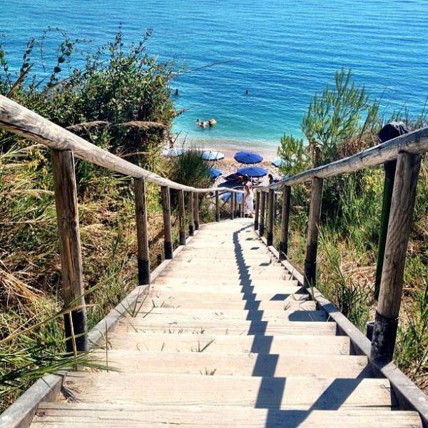 La spiaggia di San Michiele