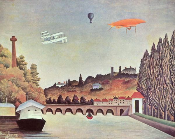 Вид моста в Севре, 1908