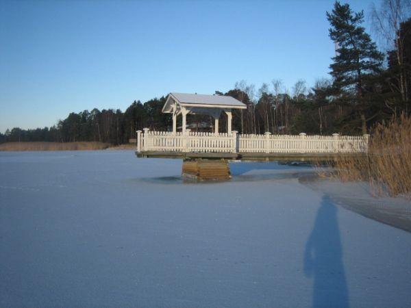 это дом, который Яри снимает на побережье Балтийского моря