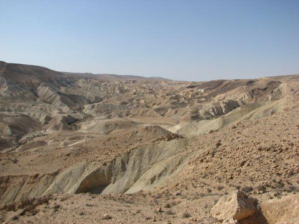 IMG_6984.JPG А это видит уже не каждый, а кто как и мы решит посетить геологический заповедник - ущелье Эйн-Авдат и побывать в эпохе, отстоящей от нас на несколько миллионов лет.