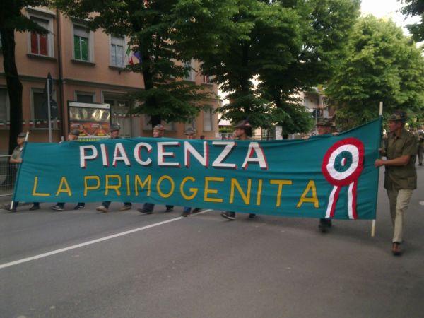 Представители из Piacenza замыкали парад