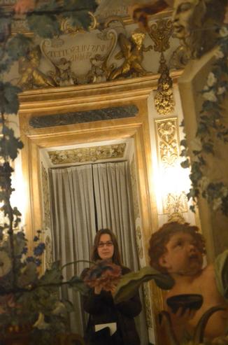 Зеркало во Дворце Медичи Рикарди