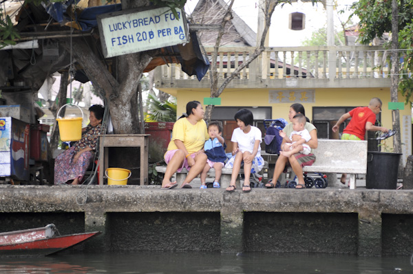 рыбный ресторан для местных