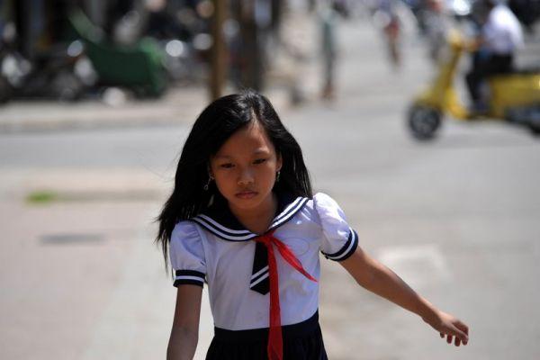 вьетнамская пионерка