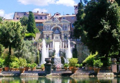 Вилла д'Эсте, Тиволи (Villa d'Este a Tivoli). Фото