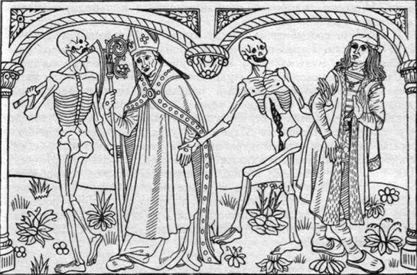 Гюйо Маршан, Пляска смерти, 1486