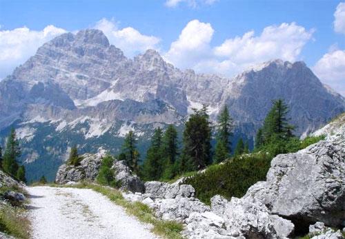 Доломитовы Альпы. Фото