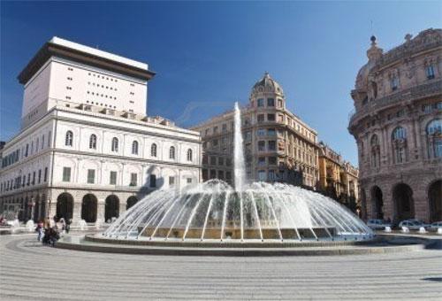 Генуя (Genova), Палацци-деи-Ролли (Sistema dei Palazzi dei Rolli). Фото