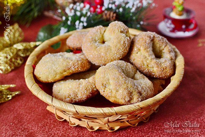 Торчетти, итальянское печенье: фото