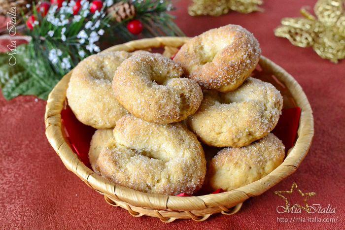 Торчетти, итальянское печенье: рецепт с фото