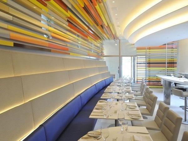 Тенденции стилей интерьера 2012: Многослойные текстуры и сложные структурные формы